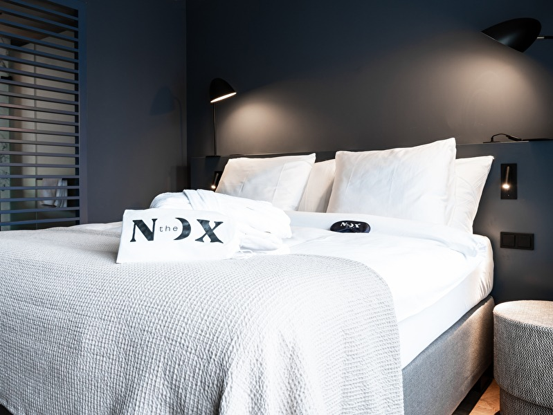 bed in de crescent moon kamer